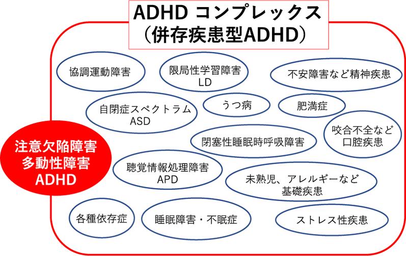 ADHD コンプレックス(併存疾患型ADHD)
