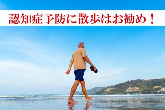第225号 認知症予防に散歩はお勧め!