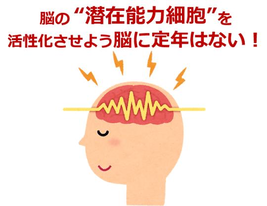 """第233号 脳の""""潜在能力細胞""""を活性化させよう 脳に定年はない!"""